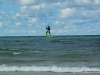 Kiteboarding Manistee 1st Street Beach 2012