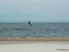 Kiteboarding in Ferrysburg North Park