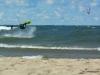 Kiteboarding Backroll Manistee 1st Street Beach 2012