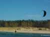 Kiteboarding in Pentwater Michigan