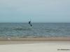 Kiteboarding in Ferrysburg North Park